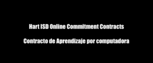 Online Learning Commitment Contract/Contrato de Compromiso